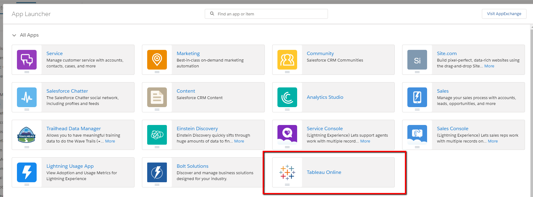 Configure Single Sign-on (SSO) from Salesforce to Tableau