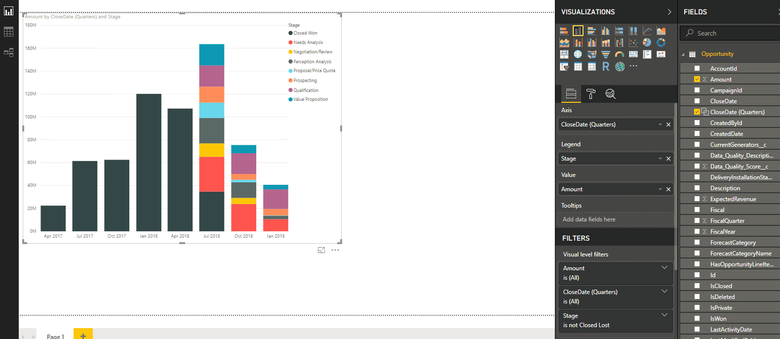Embed Power BI Report in Salesforce using Visualforce